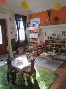 The Blue Jay Toddler Classroom